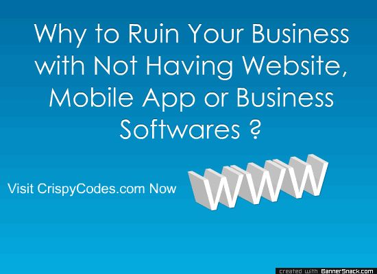 Crispy Codes Banner :) Visit us Now