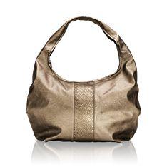 Metallic Hobo Bag