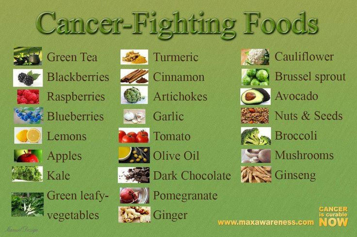Paleo health cancer fighting foods