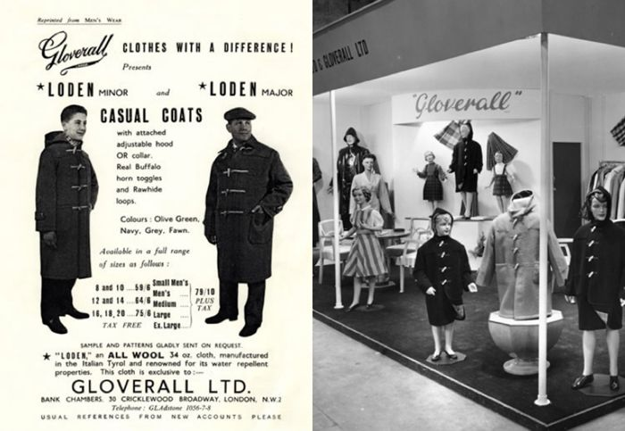 Vintage Gloverall from the archives