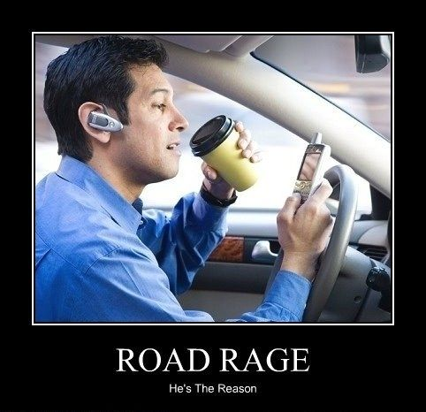 Road rage  - funny pictures #funnypictures