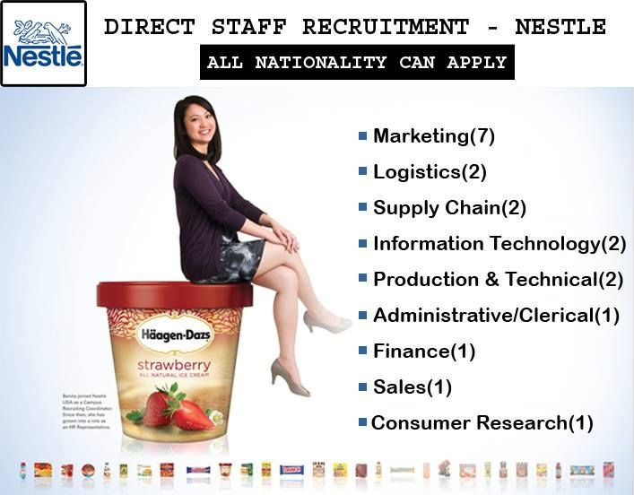 Jobs In Nestle Good Remuneration Click Here To Apply Company Job Job Information Technology