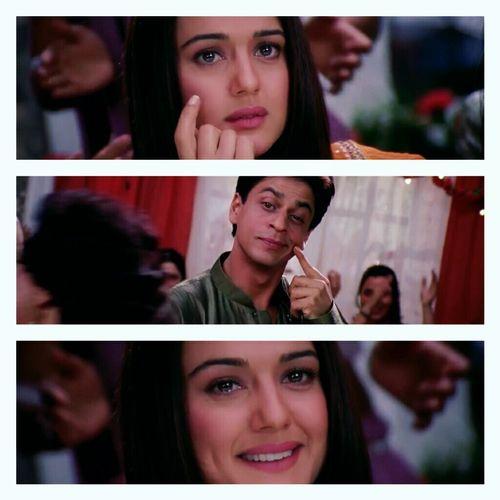 Preity & Shahrukh in Kal Ho Naa Ho