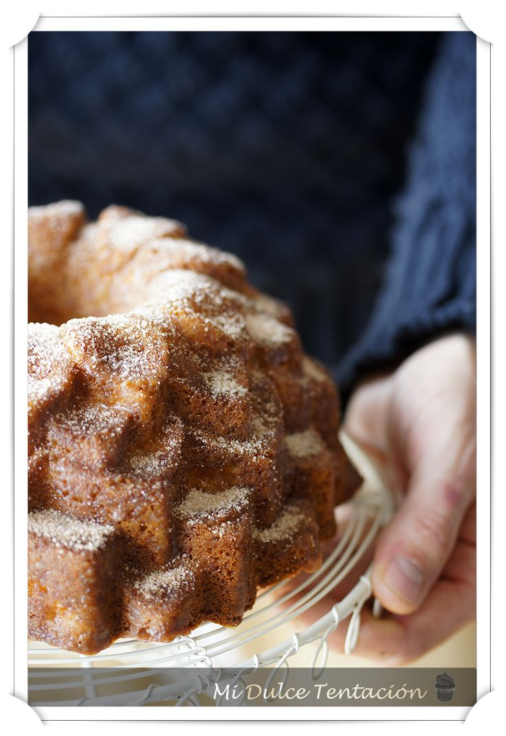 Mi dulce tentación: Bundt Cake de Melocotón y Nata