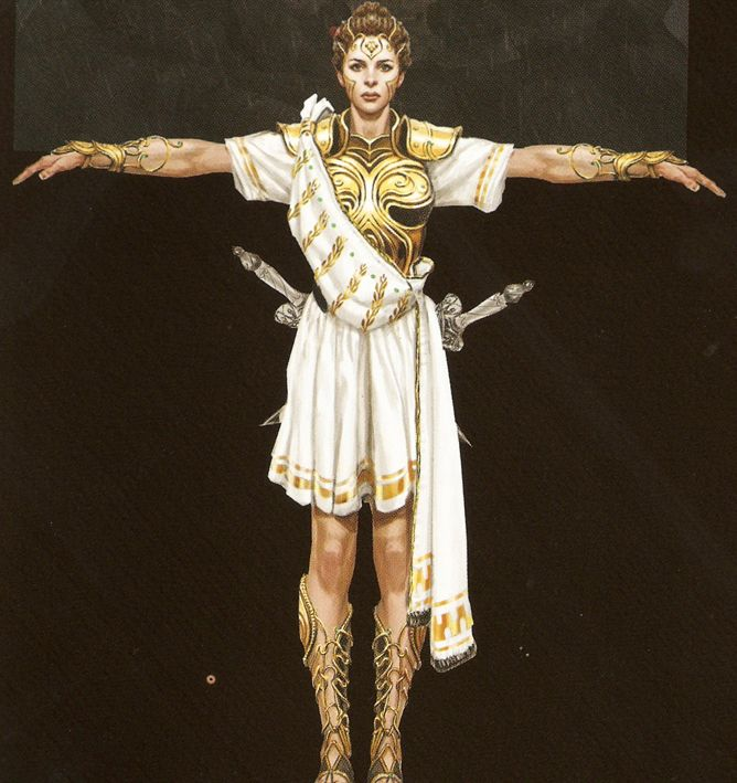 Athena - God of War Wiki - Ascension, Ghost of Sparta, Kratos, Weapons, Bosses and more!