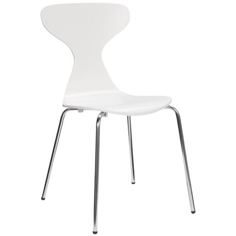 Jupiter Dining Chair  Optic White