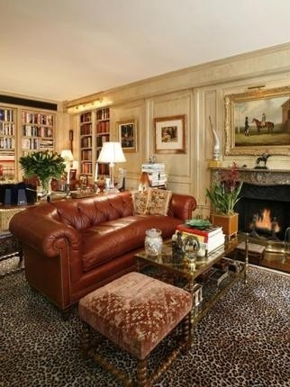 Den Library Joan River 39 S Nyc Penthouse Home And