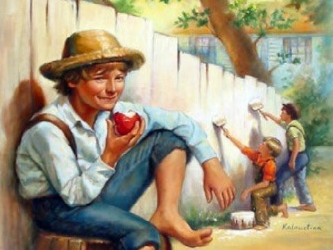 Learn English through story-  The Adventures of Tom Sawyer -English List...