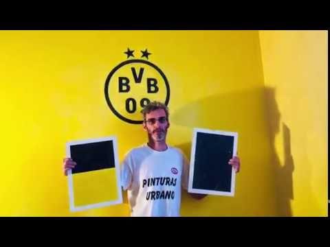Próximamente Estuco Amarillo y Negro Equipo Borussia de Dortmund