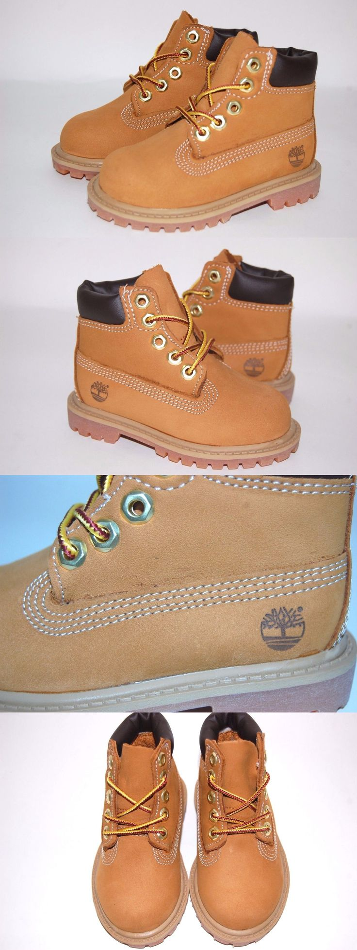 Baby Shoes 147285: Timberland Toddler 6 Inch Premium Wheat Tb012809 Nubuck Boots Shoes -> BUY IT NOW ONLY: $59.95 on eBay!