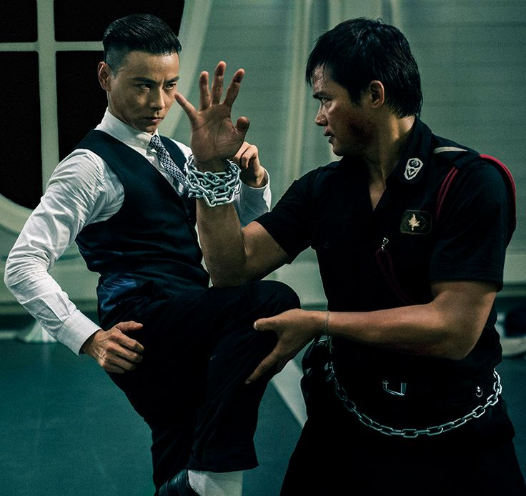 "The 36th Blogger of Shaolin. Max Zhang and Tony Jaa in ""Kill Zone 2″."