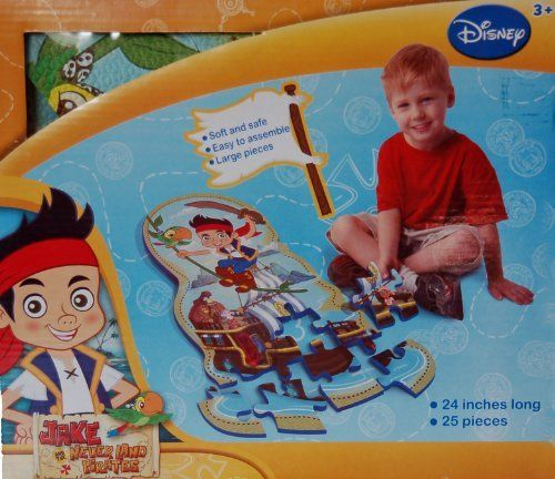 Jake and the Never Land Pirates Foam Puzzle Mat by What Kids Want. $12.48