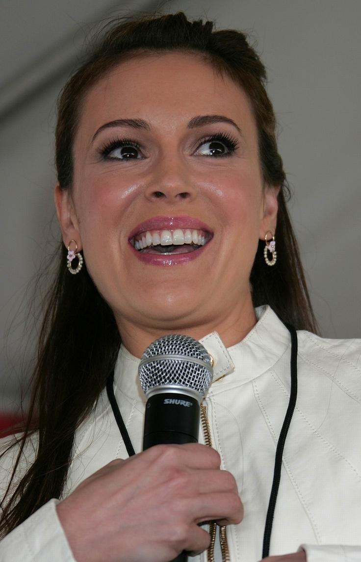 Alyssa Milano, age 40.