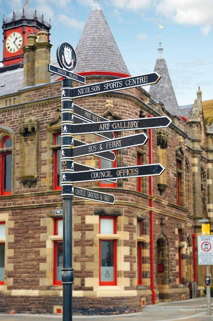 Stornoway es el epicentro cultural y artístico de las Hébridas Exteriores. Escocia