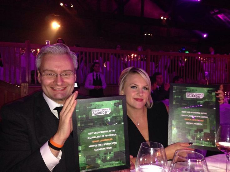 Science Museum and Redweb scooped up highly commended for best use of digital in the charity, NGO or NFP sector