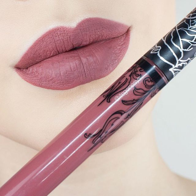 Kat Von D beauty Everlasting Liquid Lipstick || Lolita