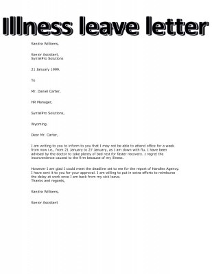Write a letter of leave application how to write a vacation request letter job resumed news alwaled com medical leave application letter thecheapjerseys Image collections