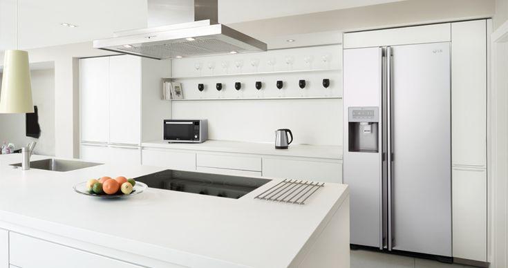 built in american fridge freezer - Google Search