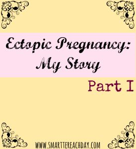 Ever had an ectopic pregnancy or miscarriage? Ever wondered what it was like? One woman's story of hope and healing in a difficult time.