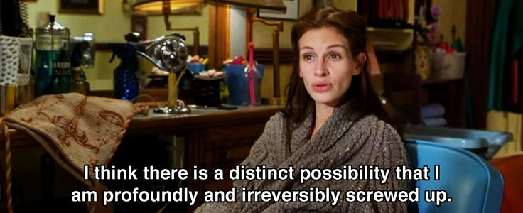I think there is a distinct possibility.. ~ Runaway Bride (1999) ~ Movie Quotes