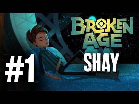 Broken Age Walkthrough Part 1 - Shay ( Double Fine - Tim Schafer ) Intro