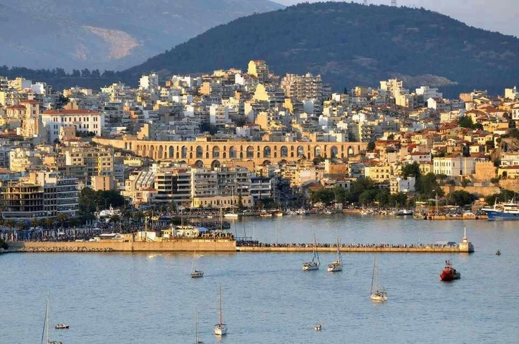Kavala Greece - the place my mom was born