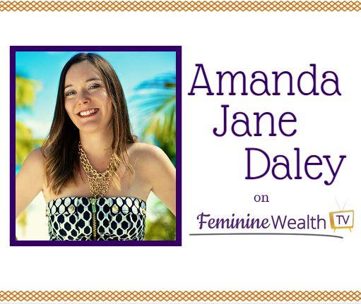On this week's episode of #FeminineWealthTV, we had the gorgeous Amanda Jane Daley, health coach and writer.  Check out the show right here: http://bit.ly/1DVNtCV #womenandwealth #womenentrepreneurs #womeninbiz #womenandmoney #womensuccessmoney #amandajanedaley