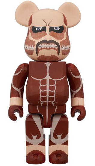 BE@RBRICK 超大型巨人 (Attack on Titan) 400% PRICE 頒布価格¥7,140(税込) ID BE@RBRICK No.B@000AOT400 Size 400%