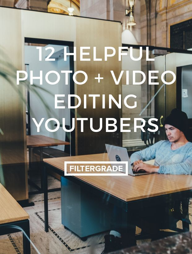 This list features some of the most helpful photo and video editing Youtubers around. Here with tips to make your editing process easier.