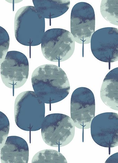 Curtain panel white blue grey trees Modern House Decor Scandinavian Design Cafe curtain Kitchen valance , table linen , great GIFT by Dreamzzzzz on Etsy https://www.etsy.com/uk/listing/244321956/curtain-panel-white-blue-grey-trees