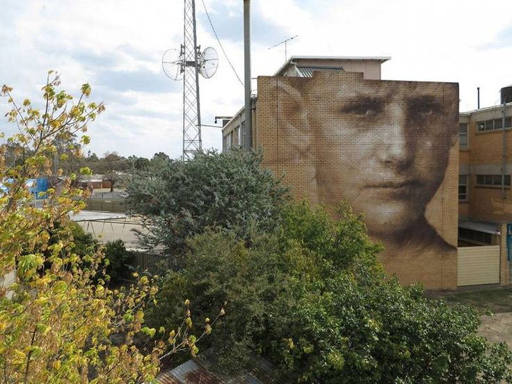 Giant Street Art Portraits in Kiev – Fubiz Media
