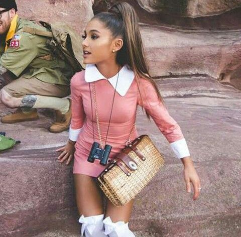 "::Ariana Grande::""hey I'm Ariana, but just call me Ari""I smile""I'm one of the bachelorettes and I'm so excited to meet all the guys. I'm 18 and I'm a singer, actress, and model. I love shopping, traveling, and dogs. I'm also a bit of a starbucks addict""I giggle""well, I can't wait to meet you guys!"""