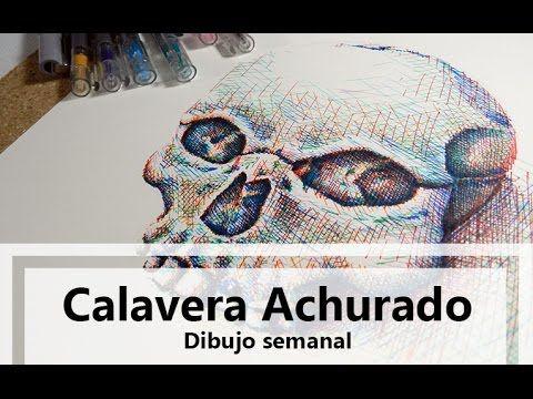 Calavera Achurado / Dibujo semanal