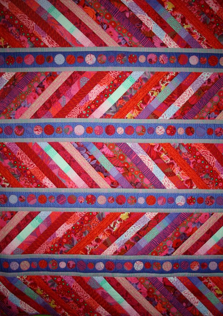 Sea Spray pattern by Moon Shine featuring Kaffe Fassett fabrics