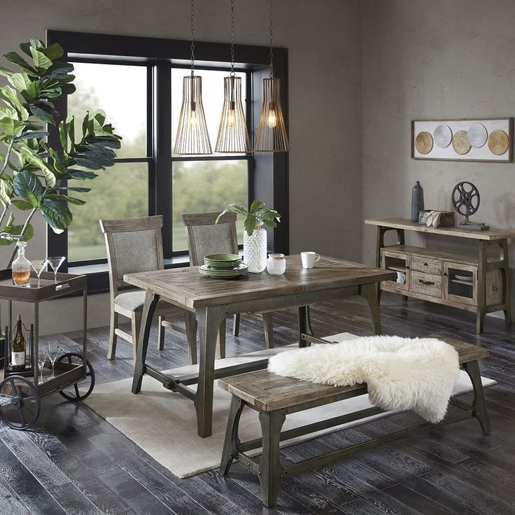 INK+IVY Oliver Dining Table Pyrus Home Furniture in 2020