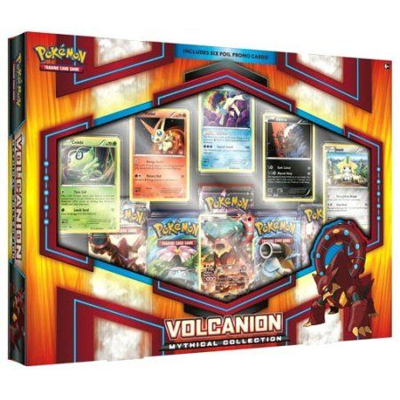 Pokemon Volcanion Mythical Collection Deluxe Box, Multicolor