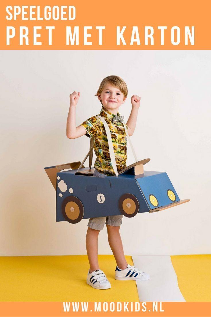 Mister Tody is een nieuw Belgisch merk en produceert hard kartonnen speelgoed waar je kind letterlijk in kan. Verkrijgbaar in vliegtuig, boot of race-auto. In zowel jongens als meisjes variant te verkrijgen.