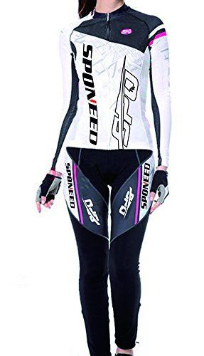Sponeed Women's Cycle Jersey Bike Clothing Gel Padded - http://ridingjerseys.com/sponeed-womens-cycle-jersey-bike-clothing-gel-padded/