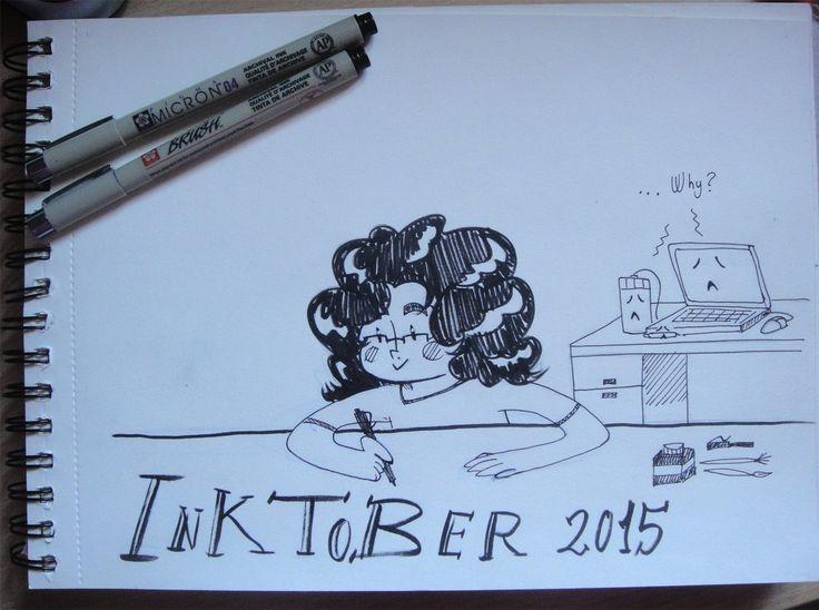 #inktober2015 Day 1 #inktober
