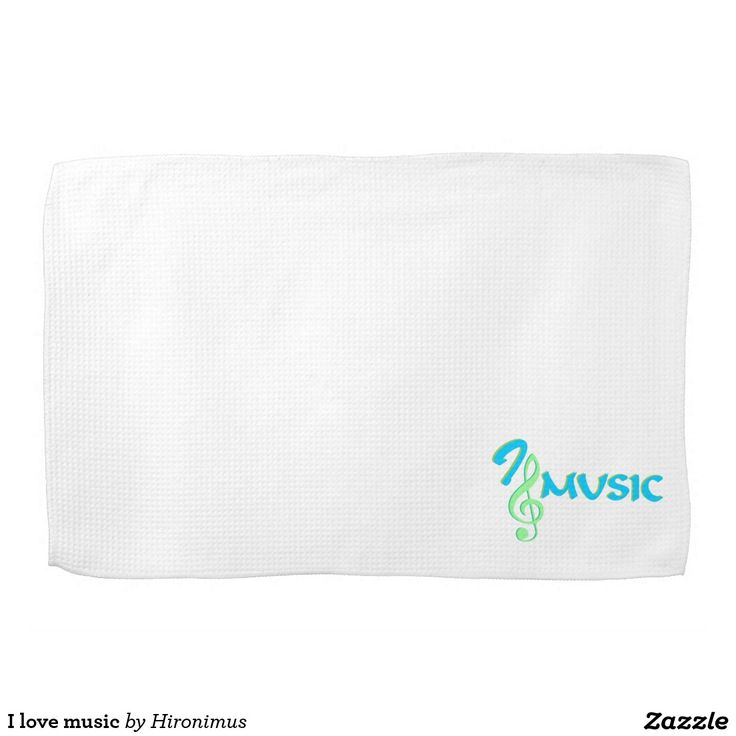 I love music towels
