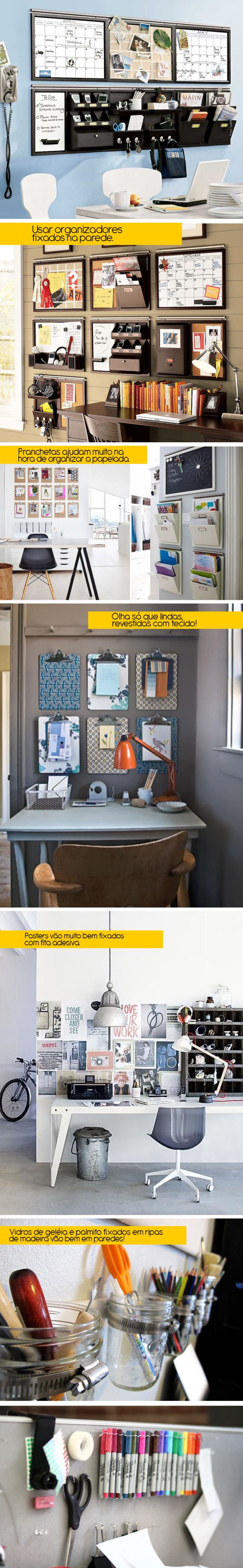 Como decorar gastando pouco Home offices escritrios  Bramare por Bia LombardiBramare por Bia Lombardi