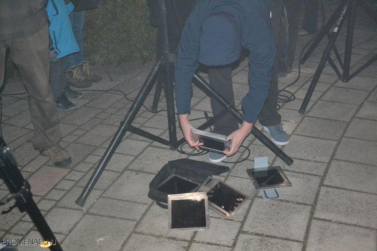 Héttorony fesztivál - Makó Hagymaház - Night Projection fényfestés  Fotó: Promenád.hu  #héttoronyfesztivál #Makó #Hagymaház #NightProjection #fényfestés #raypainting #visuals