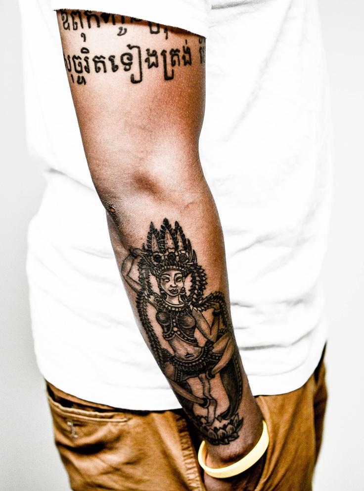 Apsara Tattoo. | Details | Tattoos, Khmer tattoo ...