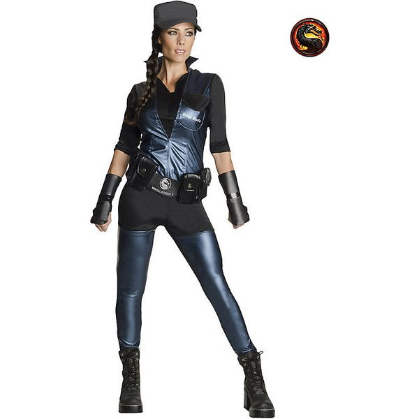Adult Sonya Blade Sexy Costume ($48) ❤ liked on Polyvore featuring costumes, halloween costumes, multicolor, sexy adult halloween costumes, mortal kombat halloween costumes, white costume, mortal kombat costumes and mortal kombat adult costumes