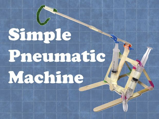 Simple Pneumatic Machine Pictures Of Middle And Pictures