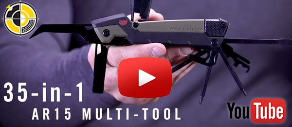 Real Avid AR15 multi-tool cleaning equipment video