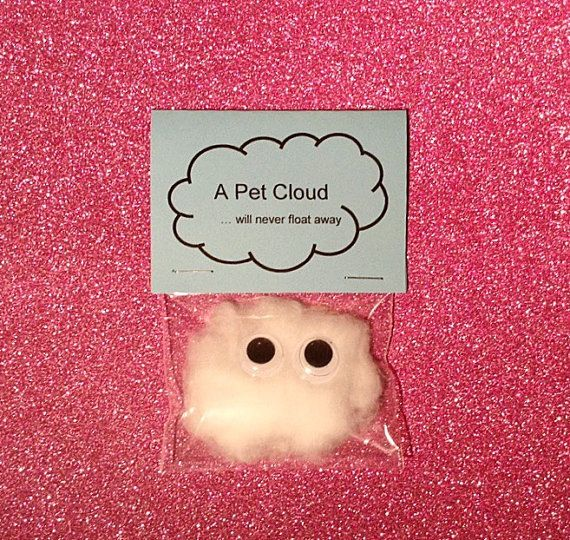 Wedding Gift Ideas Quirky : Pet cloud / wedding favors / wedding favours / quirky gifts / children ...