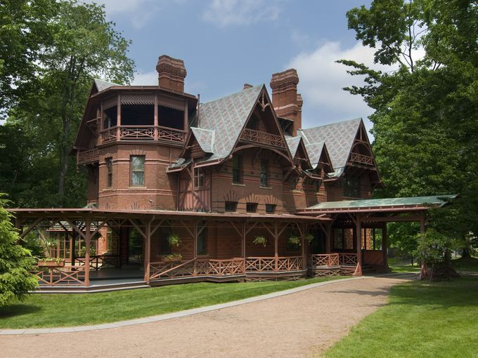 10 Best Bucket List US History Sites--Visitors to Mark Twain's house in Hartford, Conn., can feel the great author's presence.