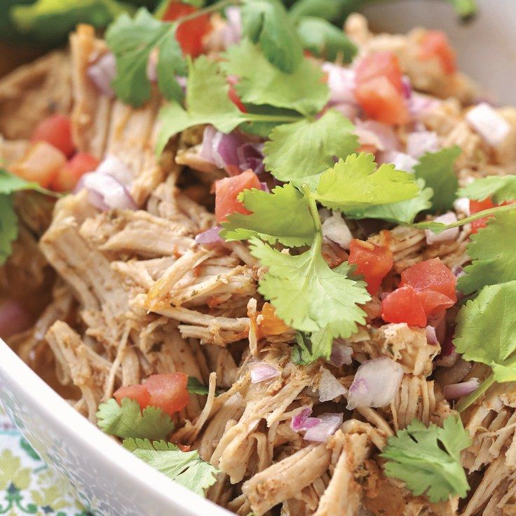 Instant-Pot Carnitas | Meat/stew button = high pressure