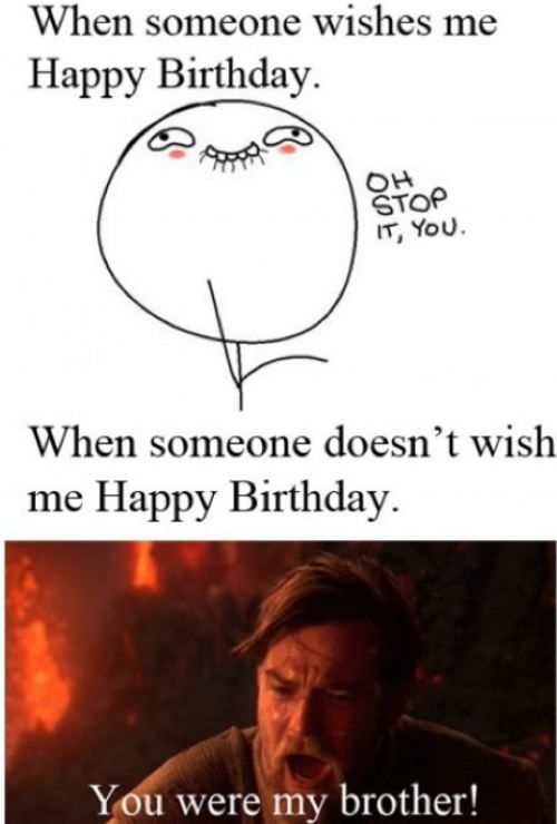 Birthdays: Happy Birthday, Funny Pictures, Birthday Wish, Stars War, So True, Funny Stuff, My Birthday, So Funny, Starwars